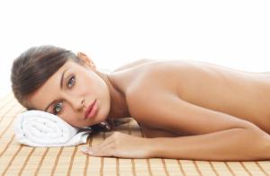 ¡Tratamiento corporal Hammam! Peeling más masaje