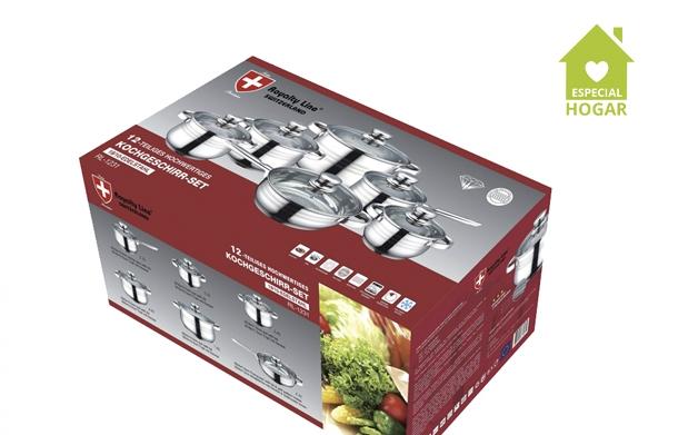 Bater a de cocina 12 piezas royalty line descuento 65 - Precio cocina completa ...