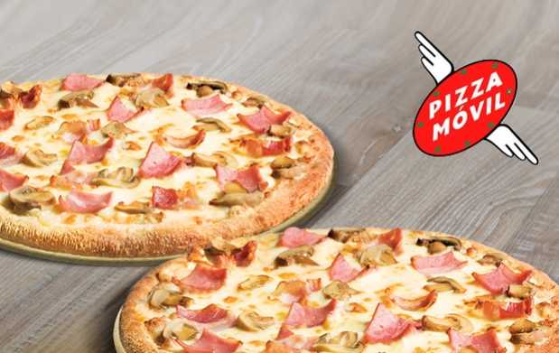 2 pizzas medianas en pizza m vil a un precio nico 21 for En 3 pizzas te olvido