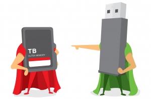 Pendrive y Tarjeta microSD + adaptador hasta 64GB