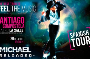 Entradas Michael Reloaded. Santiago. Domingo 29 de abril ¡Oferta limitada!