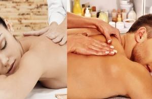 1 sesión de masaje relajante corporal