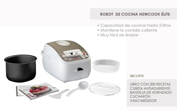 Robot de cocina newcook lite descuento 77 - Robot cocina elite cook ...