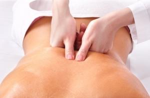 Masaje lumbar y cervical, opción reflexología podal