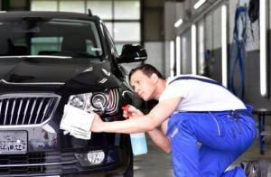 Limpieza exterior e interior de vehículo. Opción a limpieza de tapicería