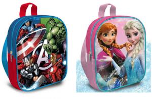 Mochila Marvel Vengadores o Diney Frozen