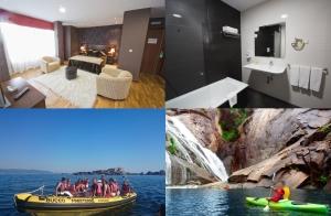 Escapada de aventura en A Costa da Morte: Alojamiento y ruta: kayak (diurna o nocturna) o lancha para la puesta de sol