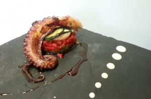 Exquisito menú cocina creativa y de mercado