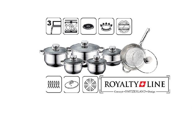 Bater A De Cocina 12 Piezas Royalty Line Descuento 65